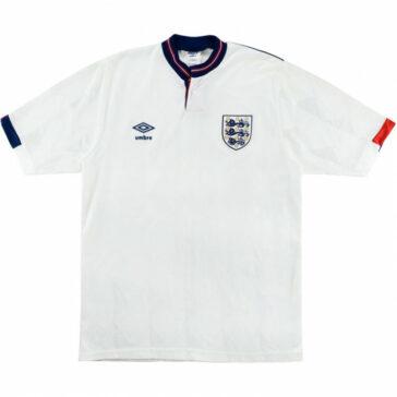 1987-90 England Home Shirt
