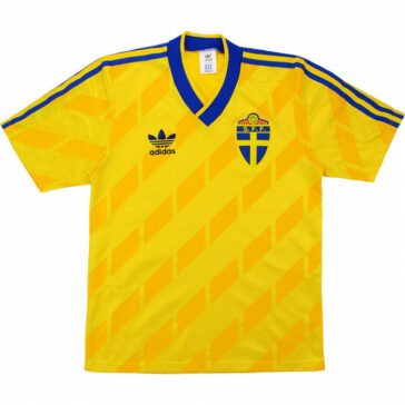 1988-91-SWEDEN-HOME SHIRT