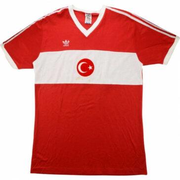 1990-Turkey-Match-Home Shirt