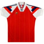 1992-94 Norway-Home-Shirt