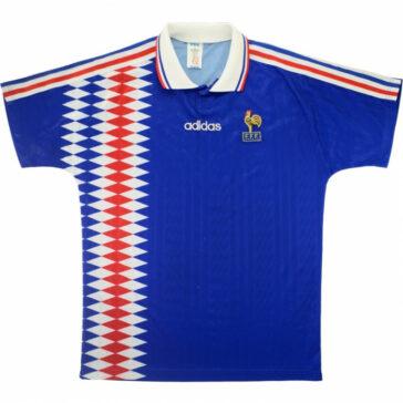 1994-96 France Home Shirt