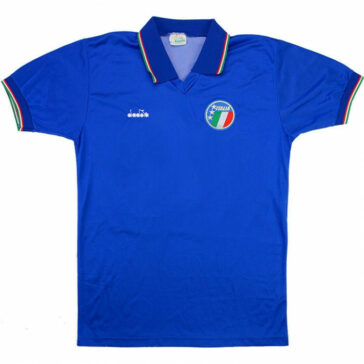 1986-90 ITALY HOME SHIRT