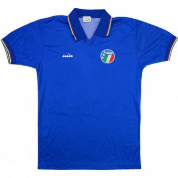 1986-90 ITALY HOME SHIRT